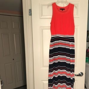 Dresses & Skirts - Red/White/Blue Maxi Dress